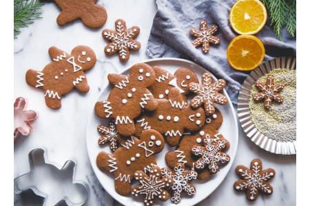 Имбирное печенье ко дню Святого Николая