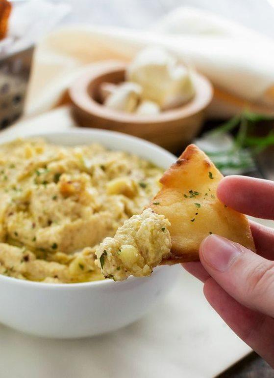 """Хумус с чесноком, зеленью и пряностями от """"Приправки"""""""