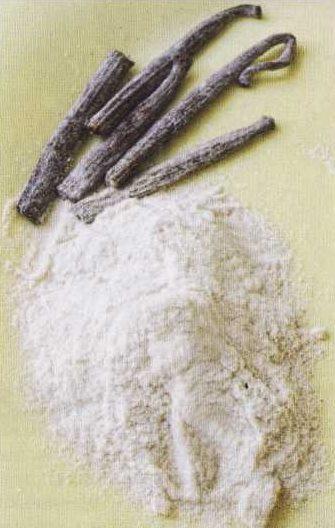 Стручки ванили высокого качества на кухне